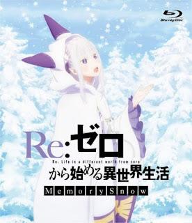تقرير أوفا إعادة: الحياة في عالم مختلف من الصفر - ذكريات الثلج - استعلامات Re:Zero kara Hajimeru Isekai Seikatsu - Memory Snow - Manner Movie