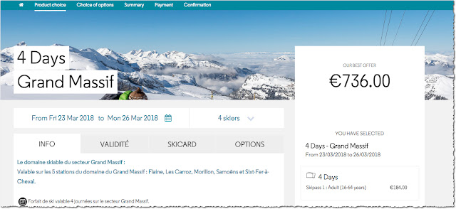 How to go skiing on a budget - ski lift pass prices