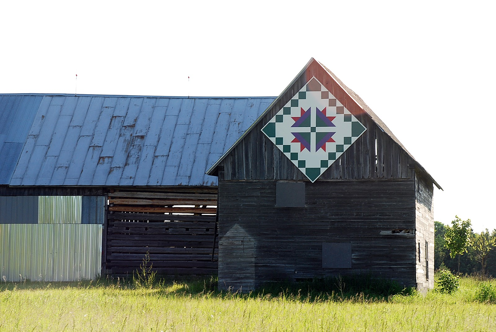 down a country road: door county quilt barn