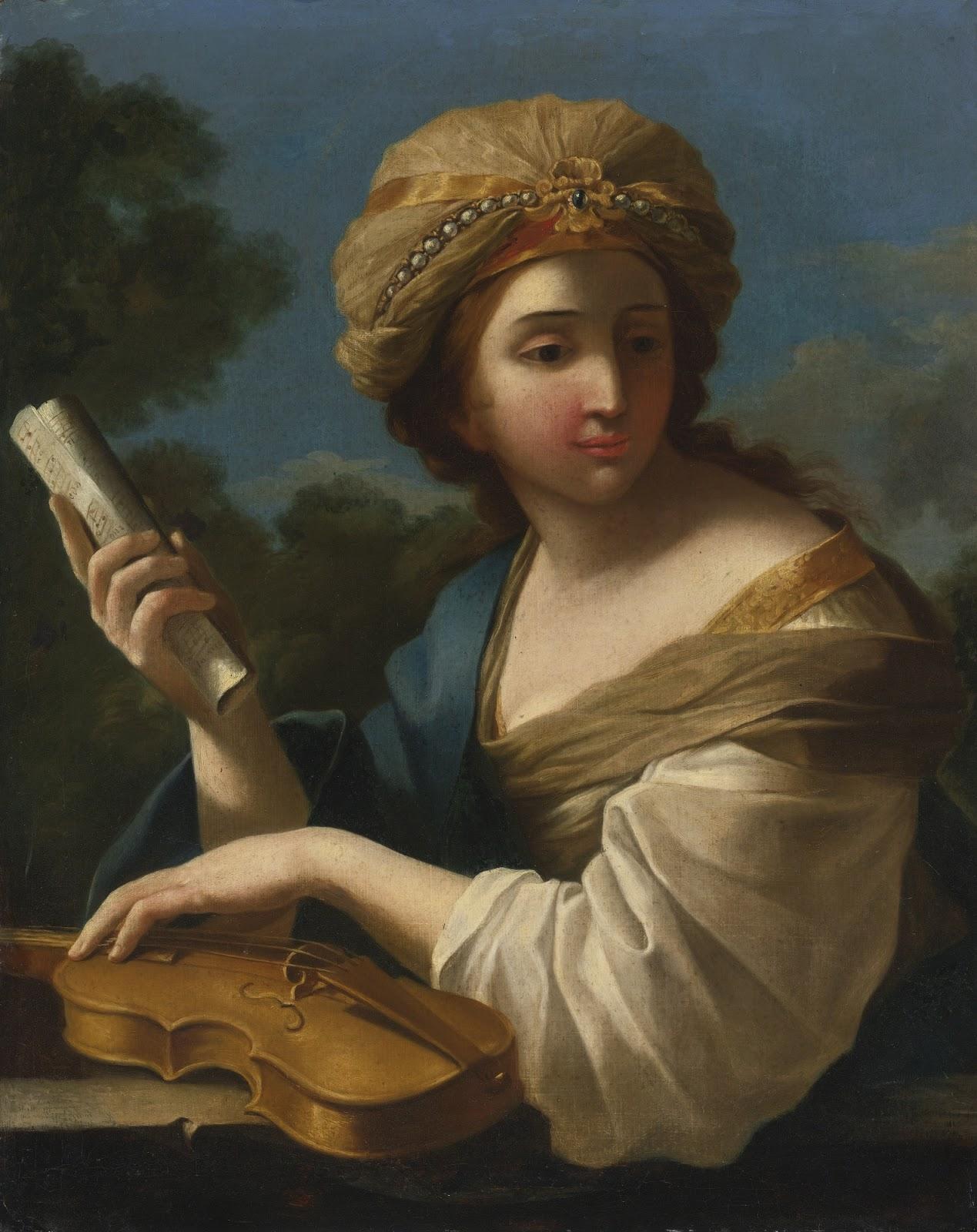 Giovanni Francesco Romanelli   Saint Cecilia