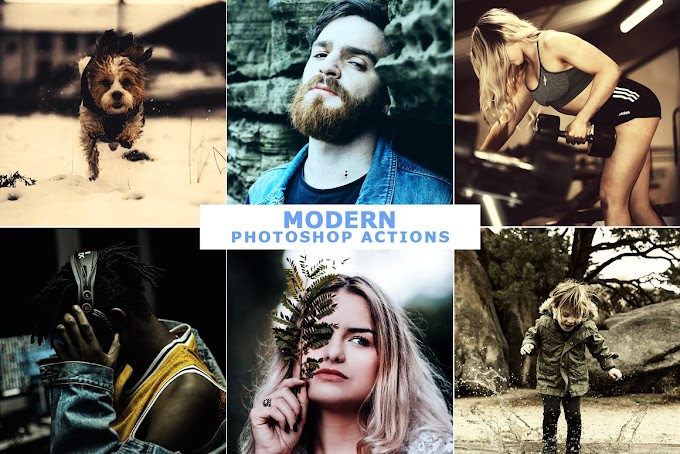 40 Modern Photoshop Actions 5 4699333