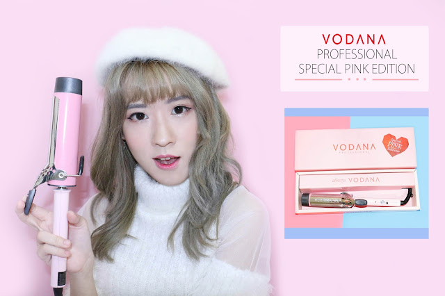 Hair Tutorial with Vodana Glam Wave Curling Iron