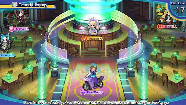Superdimension Neptune VS Sega Hard Girls PC Free Download Screenshot 3