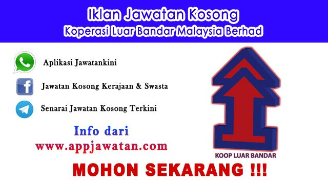 Jawatan Kosong di Koperasi Luar Bandar Malaysia Berhad