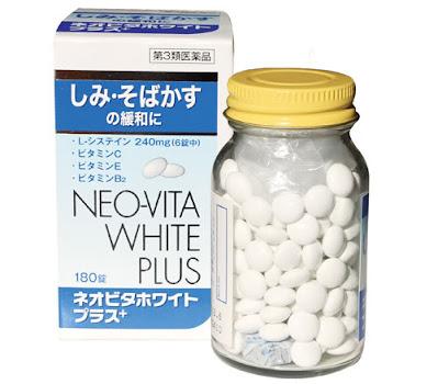 Neo Vita White Plus - Viên uống trắng da, bảo vệ da