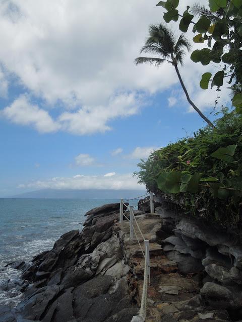 Napili Bay walkway