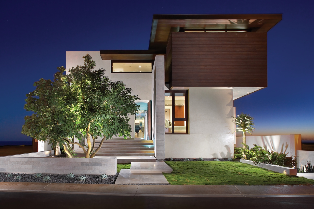 California Modern Architecture World Of Architecture Modern Romantic Home Overlooking