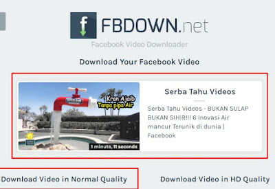 Cara Mudah Download Video Facebook Tanpa Aplikasi
