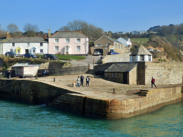 Charlestown harbour,Cornwall