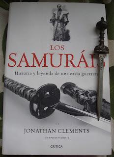 Portada del libro Los samuráis, de Jonathan Clements