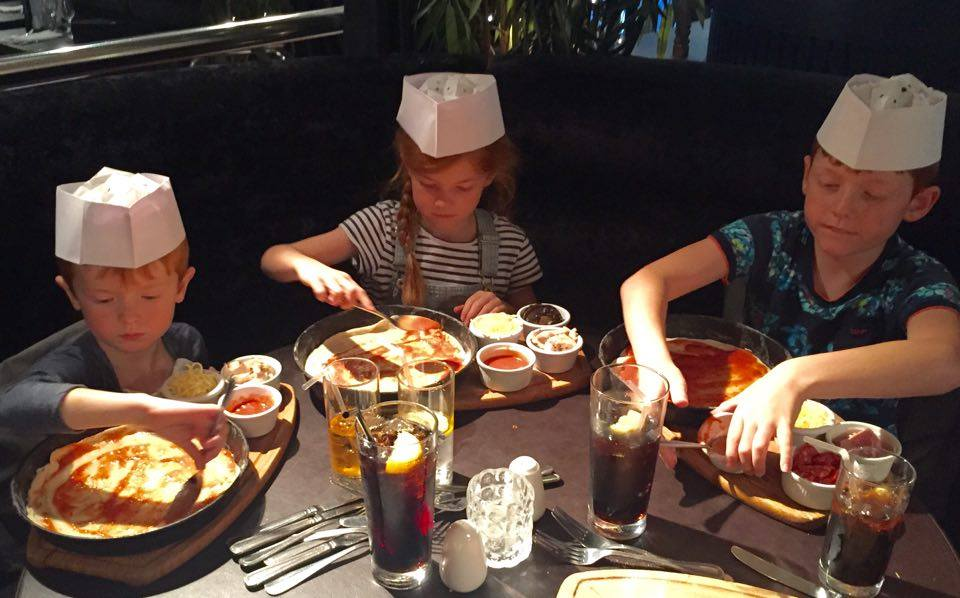The Best Restaurants in the North East  - best pizza making for kids - babucho Newcastle