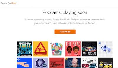 Accéder à les podcasts Google Play Musique depuis la France