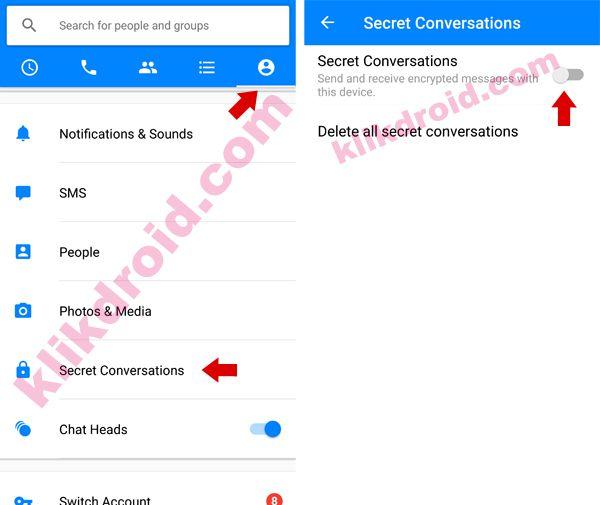 Cara Mengaktifkan Percakapan Rahasia Facebook Messenger