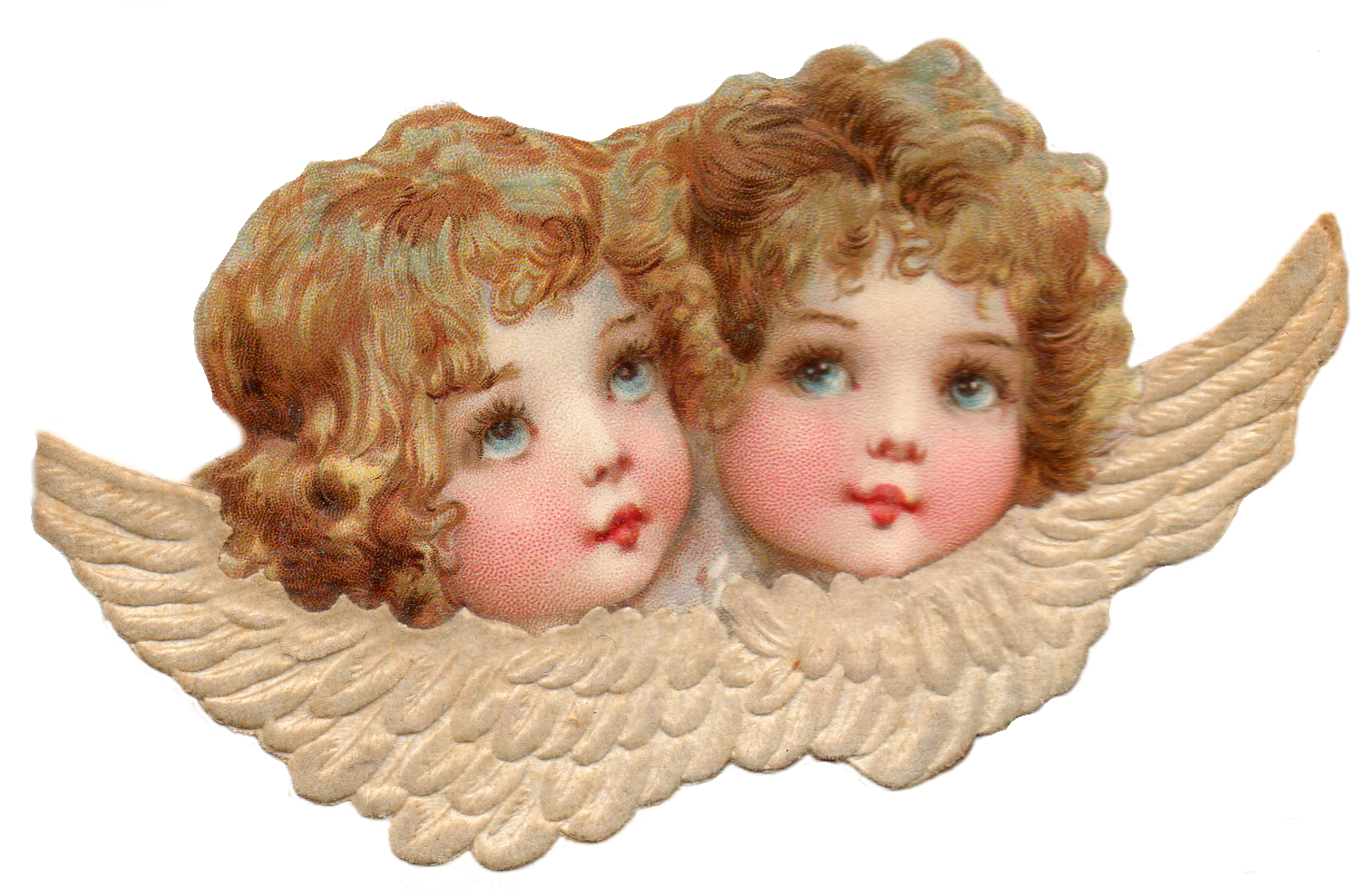 Leaping Frog Designs Cherubs Angels Lace Free Png Image