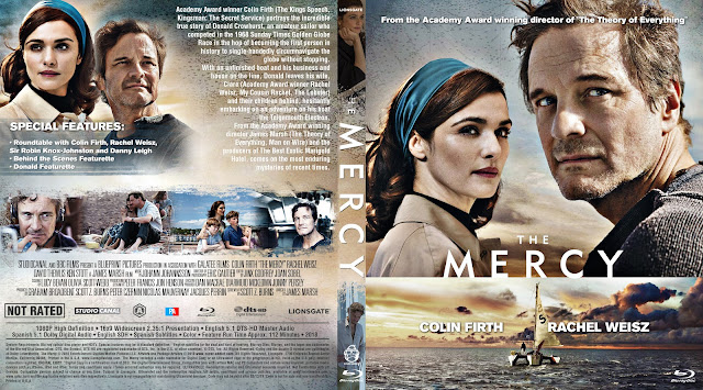 The Mercy Bluray Cover