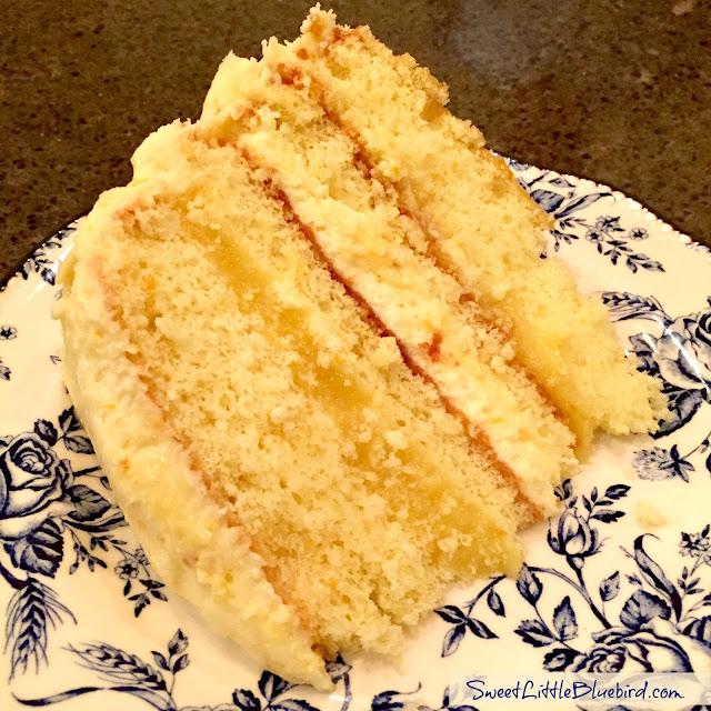 Sweet Little Bluebird: Orange Layer Cake