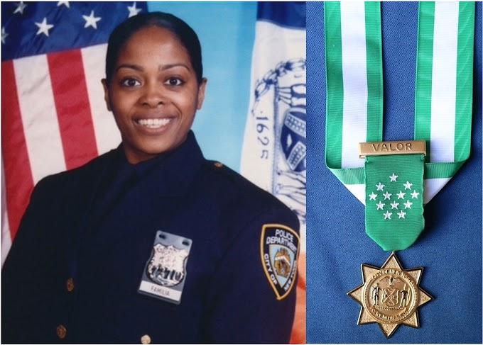 Policía dominicana asesinada en El Bronx recibe Medalla de Honor póstuma del NYPD