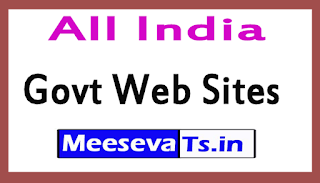 All India Govt Web Sites