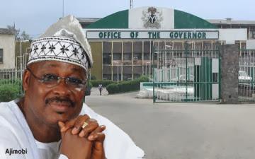 governor ajimobi dissolved cabinet