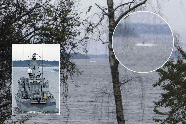Suecos desconfiam de intrusões submarinas russas em missão secreta