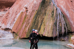 An Extraordinary Pool Hopping, Rock Sliding, Waterfall Adventure Canyoneering The Salome Jug