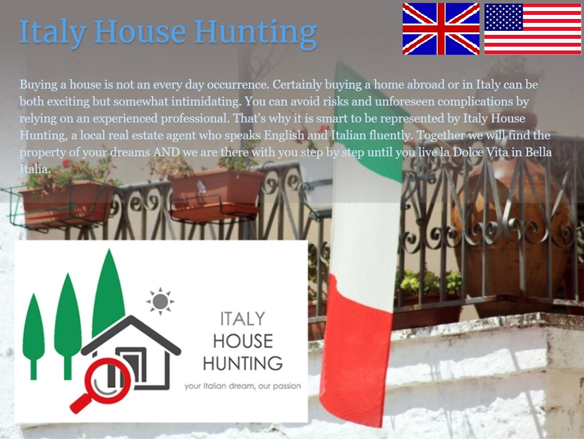 Italy House Hunting in English
