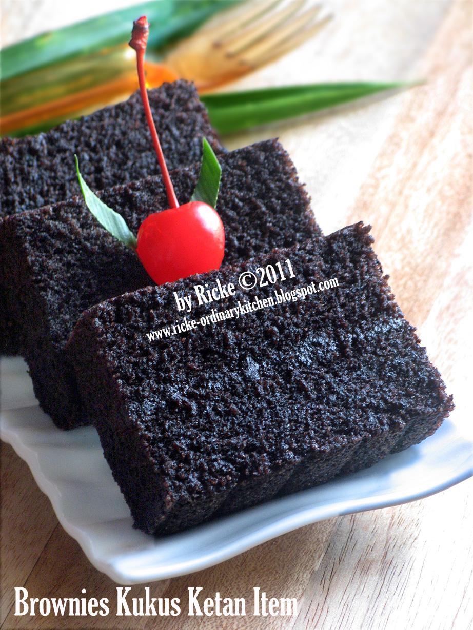 Resep Brownies Hitam Surat Rasmi 1