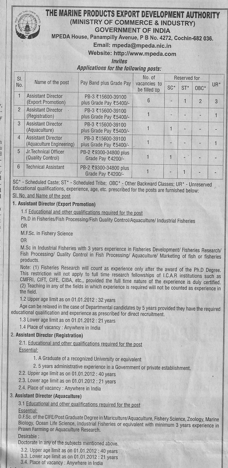 tn govt jobs: 01/28/12