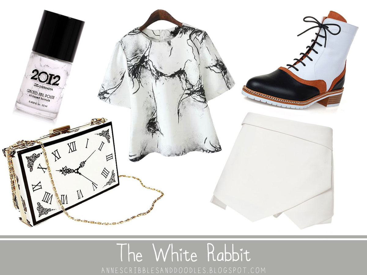 The White Rabbit | Alice in Wonderland Character Inspired Outfits