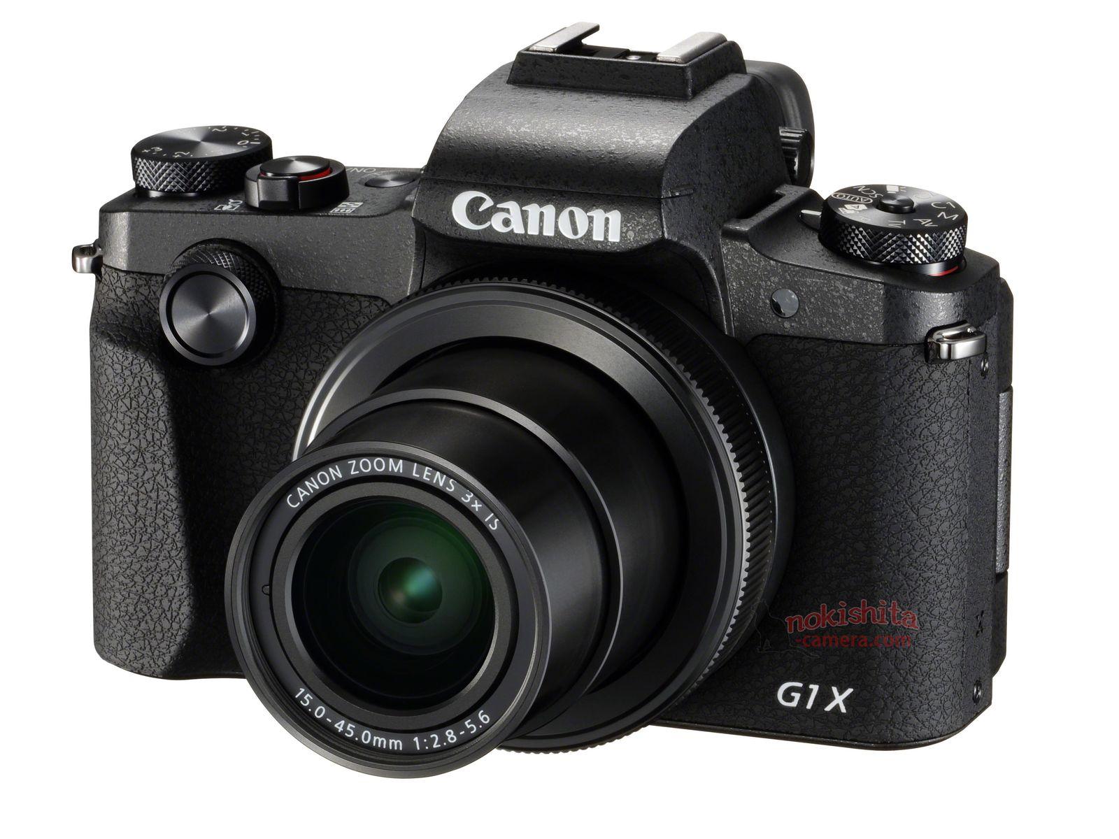 Canon PowerShot G1 X Mark III, вид спереди