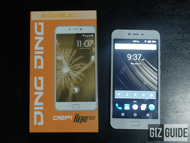 s latest smartphone inwards the province equipped alongside big covert as well as entry Ding Ding Announces Defi Hero Plus With 5.7 Inch Screen For PHP 3999