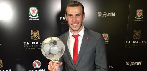 Gareth Bale foi eleito o melhor jogador galês em 2016