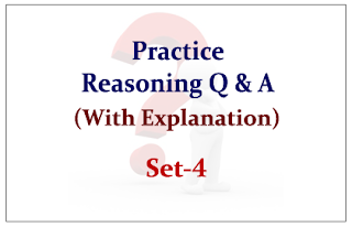 Practice Reasoning Questions (with explanation) for Upcoming Bank PO and Clerk Exams 2015 Set-4