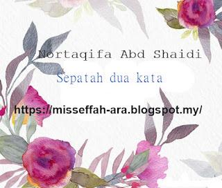 Adab Sunnah Hari Jumaat : Nortaqifa Abd Shaidi