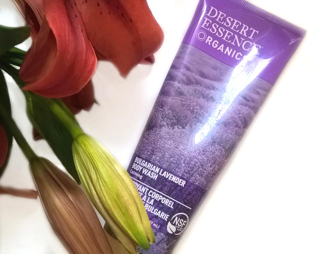 Desert Essence, żel pod prysznic Bulgarian Lavender recenzja blog