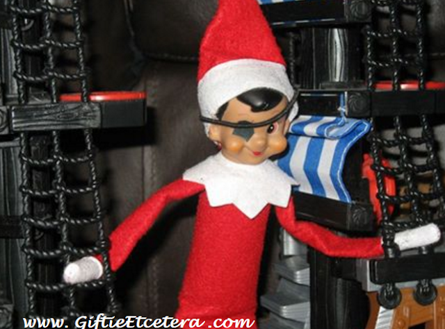 Elf on the Shelf Ideas, pirate