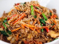 How to Make Delicious Jap Chae Korean cuisine