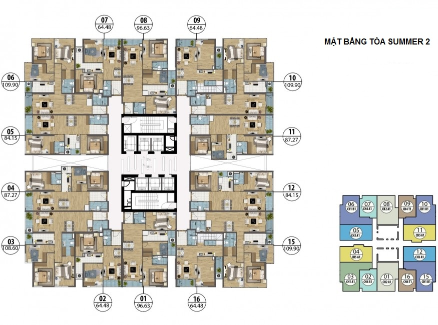 Phối cảnh dự án chung cư Goldseason 47 Nguyễn Tuân