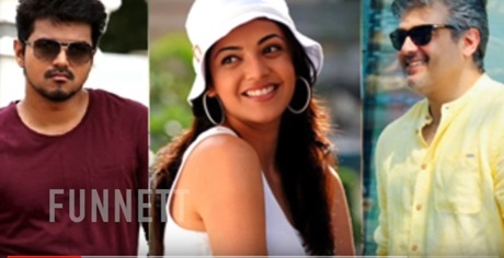 Vijay Film & Ajith Film – Both superstar's Luckiest Heroine Kajal Agarwal's role