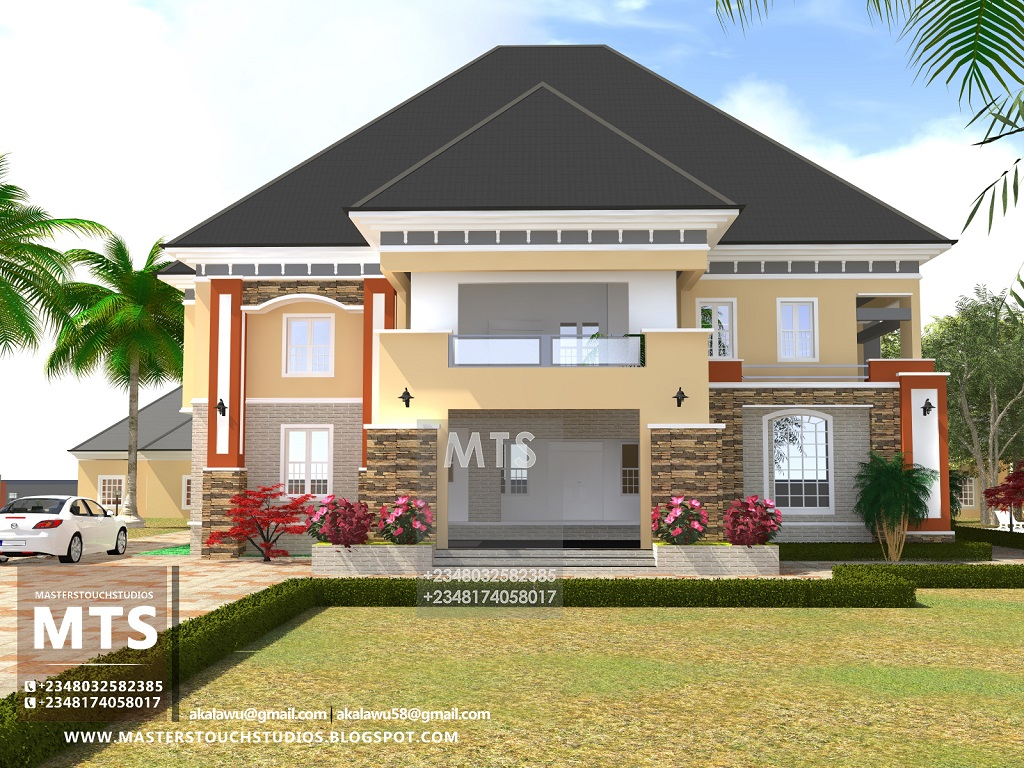 Mr japhet 6 bedroom duplex residential homes and public for Duplex ideas
