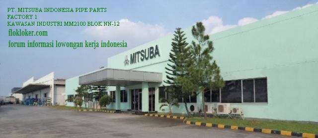 Lowongan Kerja PT MITSUBA INDONESIA PIPET PARTS Kawasan MM2100 Bekasi