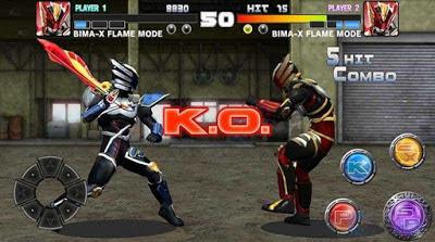 BIMA-X: Satria Heroes Mod Apk v1.14 (Money+Unlocked All Character)