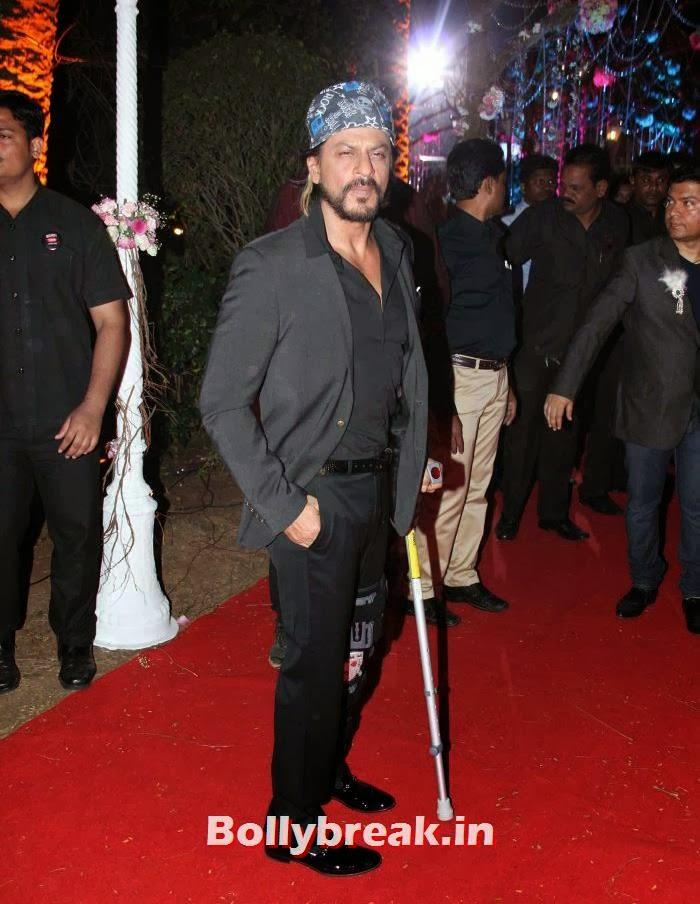 Shahrukh Khan, Ahana Deol Wedding & Reception Pics