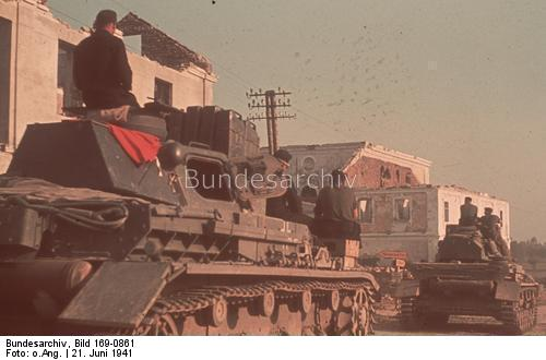 Panzer IV awaiting Operation Barbarossa 21 June 1941 worldwartwo.filminspector.com