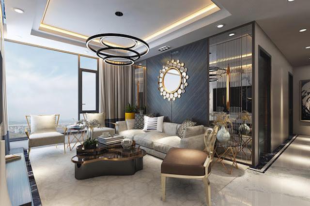 Thiết kế căn hộ Sunshine Empire Tower Phạm Văn Đồng, Từ Liêm Hà Nội dự án sky villas