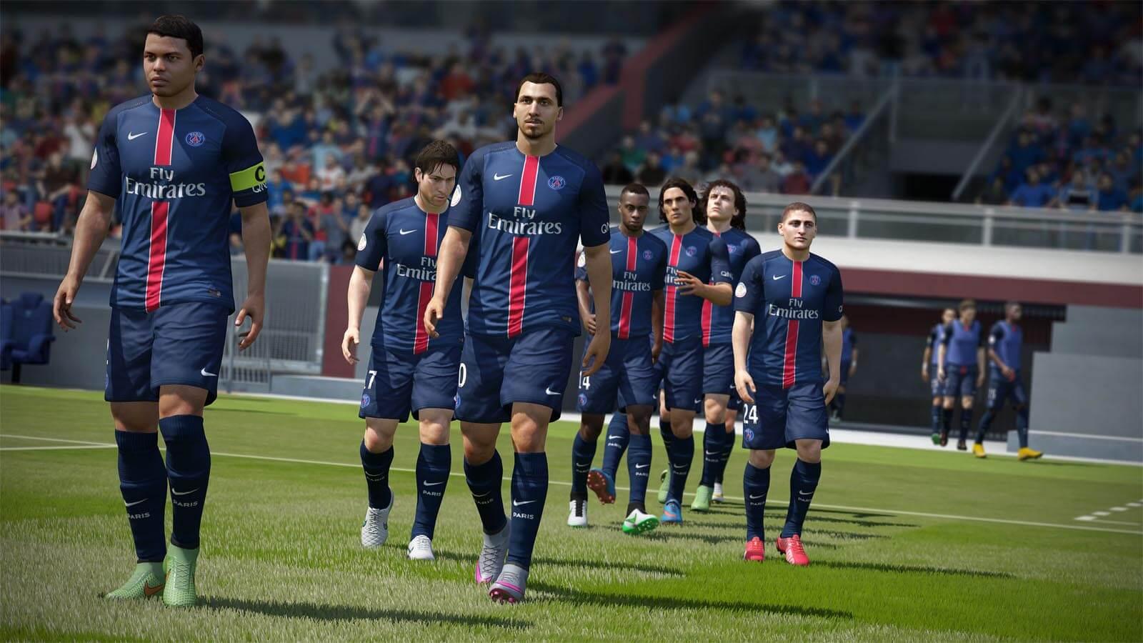 تحميل لعبة FIFA 2016 Demo مضغوطة برابط واحد مباشر كاملة مجانا