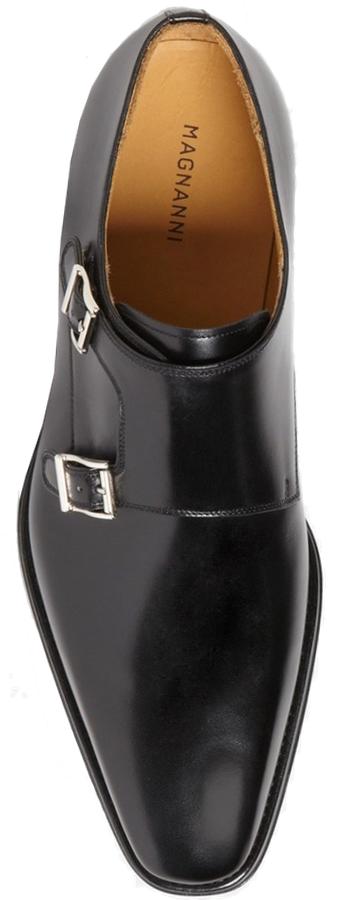 Magnanni 'Miro' Double Monk Strap Shoe