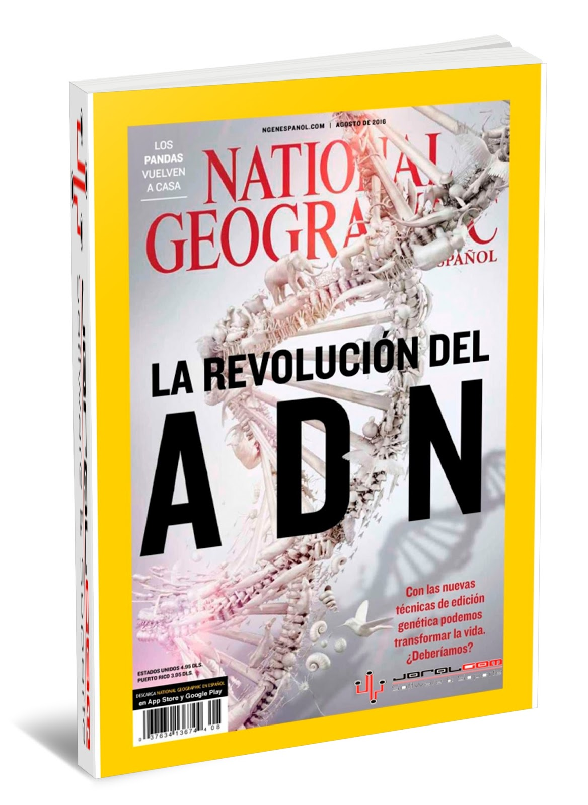 Revista National Geographic Mx - Agosto 2016
