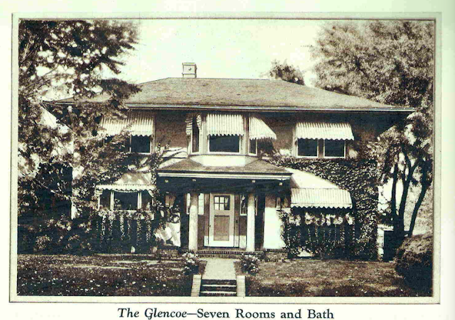 front elevation of gordon van tine glencoe from 1929 catalog