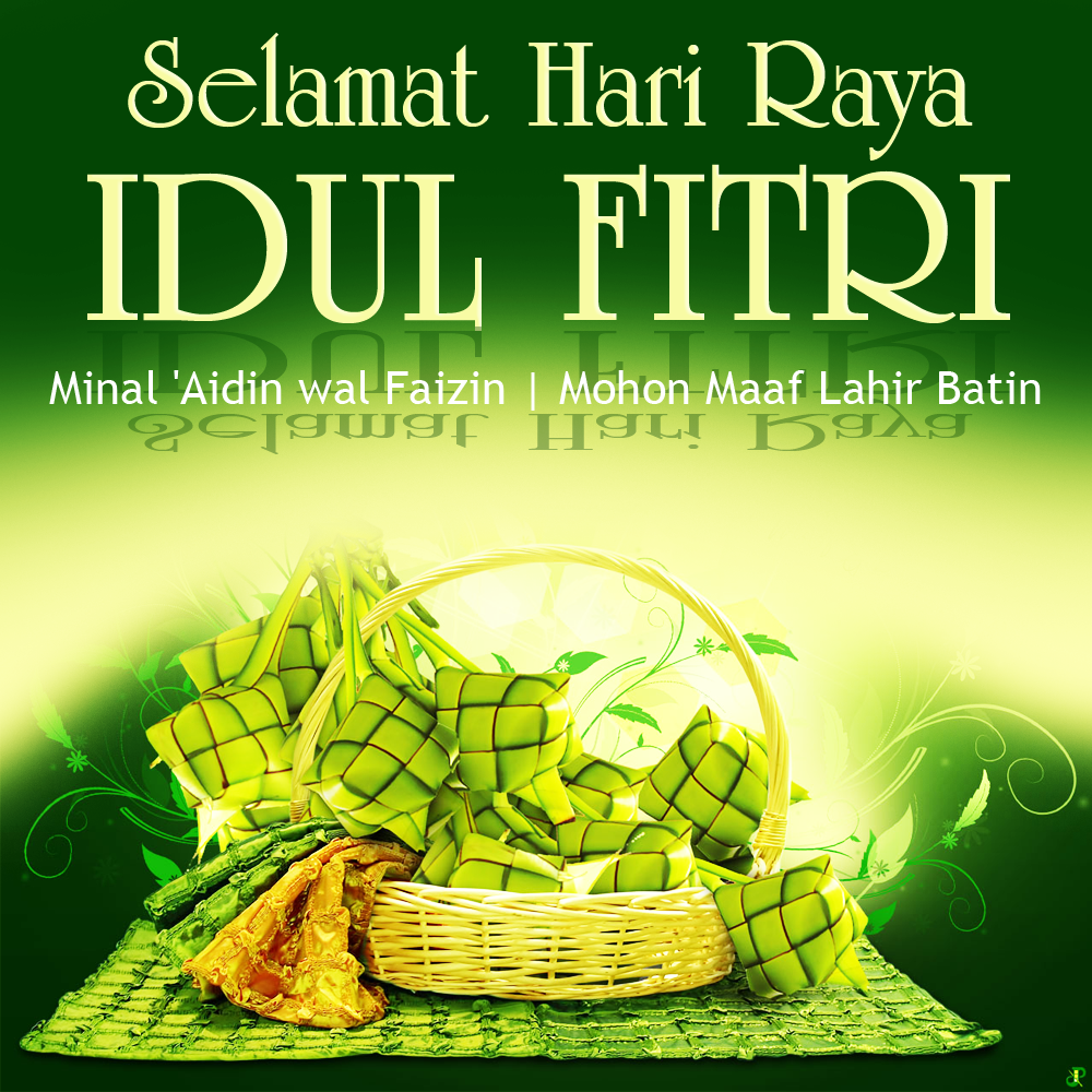 Koleksi Desain Ucapan Selamat Idul Fitri